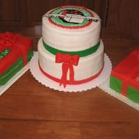 Operation Christmas Child Cake Made this cake for our local church.