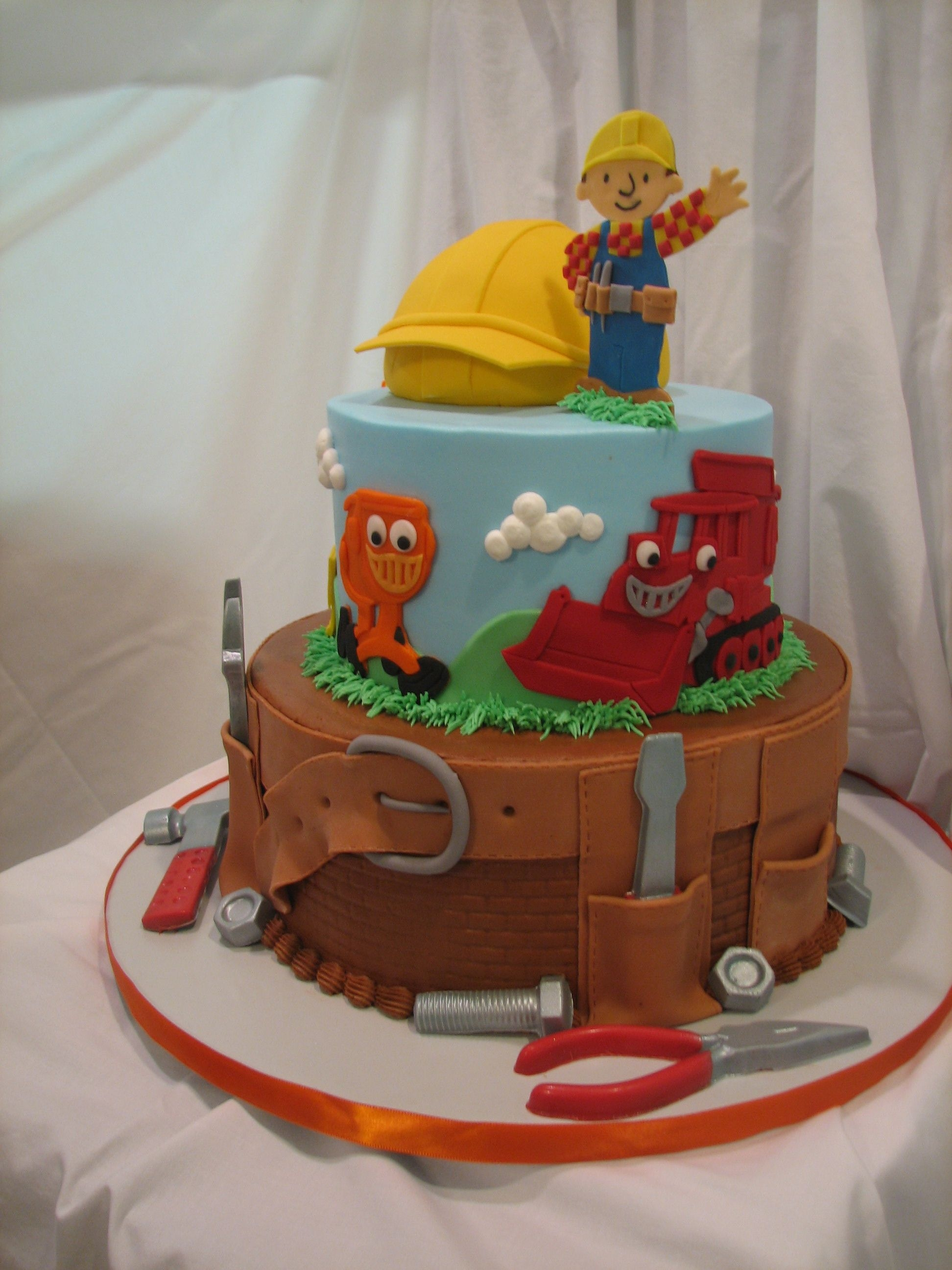 Bob The Builder Cake Gallery On Cake Central