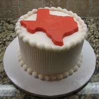 Longhorn Birthday Another quick birthday cake for my husband's boss. He is a alumni of the University of Texas. The cake was done in buttercream. The...