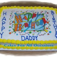Happy Birthday! Request. Edible.