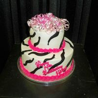 Zebra Print And Curling Ribbon