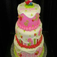 Strawberry Shortcake Tiered