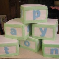 Baby Shower Blocks