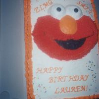Elmo Cake This was made with the Wilton's Elmo Face cake pan - boy what a chore, but it was fun and I was happy with the results. I wish I had a...