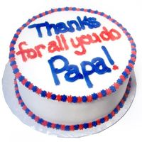 "Thank You Cake Just a simple thank you cake....8"" round CASC all buttercream"