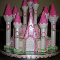 Princess Castle For My Princess  This is my version of the wilton romantic castle. My 4 year old has been asking for it since her 3rd birthday party was over!! The bottom...