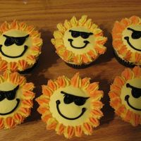 Sunshine Cupcakes Thanks to maplecakes for this idea. My son saw them and asked if I could make them for his last day in SK, the whole class loved them. All...