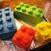 Lego Cake I made this lego cake from some instruction on the Betty Crocker website. I used 2 13x9x2 cakes stacked with chocolate pudding in the...