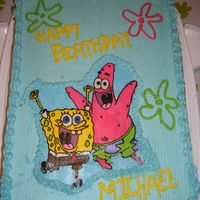 Sponge Bob Fbct SpongeBob FBCT for my son's 3rd birthday. My vaccum wire decided to attack my cake ( I yanked the wire from the outlet and it flew...