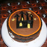 Halloween '06 Got the idea for this cake from aprilmanning, thanks! I didn't use cookie cutters, I should have, it's a little sloppy, I did it...