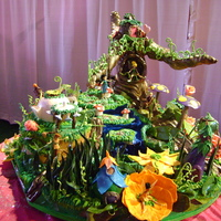 Pixie Hollow  Tinkerbell and all her fairy princess friends are showcased here in Pixie Hollow. Each one of them has their own house and all surround the...