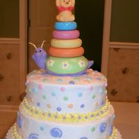 Winnie The Pooh Shower This is for a Winnie the Pooh shower just for someone who ordered a cake. They bought the topper and I just made the cake to match the...