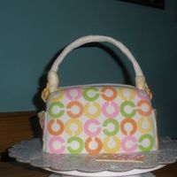 Colorful Coach Purse   Made this for my daughter in-law's birthday.