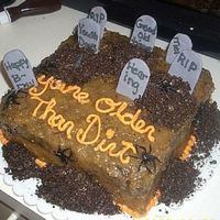 German Chocolate Cake Halloween/birthday I made this cake for my dad. His birthday is on Halloween. Every year he gets a German chocolate cake because that is his favorite and no...