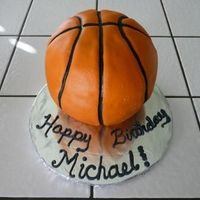 Basket Ball I made this cake for a friends nephew