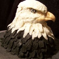 Eagle I was asked to make a cake for a guy leaving for Iraq. The design was left completely up to me. A big thanks goes to sadsmile for the...