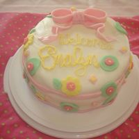 Marshmellow Fondant Babyshower Cake my first attempt at marshmellow fondant. It was so much fun to use and tastes great!