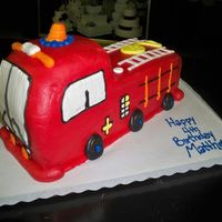 Firetruck all buttercreme