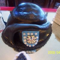 Army Beret   ARMY Beret Rice krispies covered on MMF/gumpaste