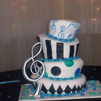 Sweet 16 Mad Hatter Cake thanks for looking!
