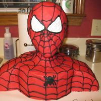 Spiderman Cake This is a cake I made for a friend's little boy for his 5th birthday. I followed the instructions that I found here from one of the...