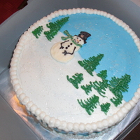 Winter Wonderland   My take on the cake from Whimsical Bakehouse.. Thanks for looking!