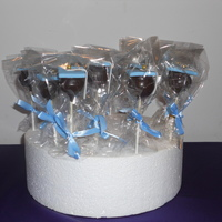 Cake Pops Graduation cake pops for my niece's 5th grade class.