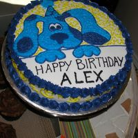 "Bluesclues.jpg Blue's Clues 10"" made for a Boy's birthday"