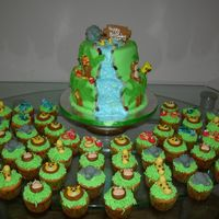 Jungle Cake N Cuppies