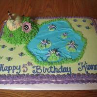 The Princess And The Frog   Cake for a lil princess who loved the movie