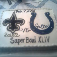 Superbowl Cake   Cake I made for our Superbowl party