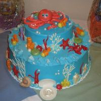 Under Sea Baby Shower Well, it's finished! And what a pain in the rear it was! The results were worth everthing that went wrong though! Chocolate version...