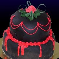 Buffybabe Cake Ok, so this is a quick cake. I had big plans for it, but after spending hours at the emergency room with m daughter my time to decorate ran...