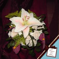 Flowers For My Mother I made this bouquet from gumpaste on floralwire for mother 'cause I love her. It has calla lilies, a Verailles lily, roses,...