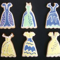 My First Dress Cookies so fun!