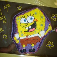 465.jpg Girly Girl b-day cake. Girls can like sponge bob too.