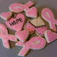 Breast Cancer Awareness Cookie