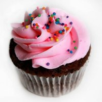 Pink Party Cupcake