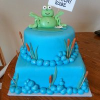 Frog Bday