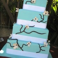 Recent Dogwood Flower Wedding Cake