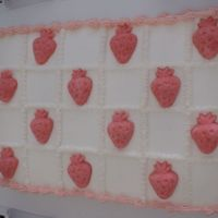 Strawberries Made With Sugar Mold