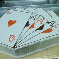 Play Cards Cake