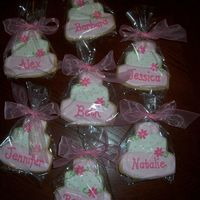 Bridal Shower Cookies Cookies favors done for my SIL's bridal shower. Basic sugar cookie & royal icing recipes