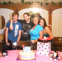 Family With Cake