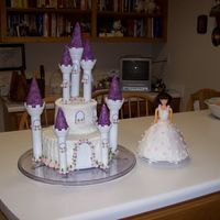 Allie's 1St Birthday My first attemp at the castle cake. It was fun.
