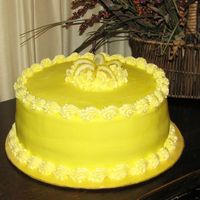 Tangy Lemon Buttercream Lemon Buttercream zested up with lots of lemon for a sweet and sour treat!