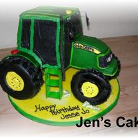 John Deere This cake literally took me two whole days! I was glad to get rid of it, but was thrilled with the results.