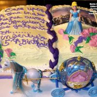 Kimberly Birthday My sister asked me to make her granddaughter a B D Cake. She likes Princess things, so I chose a Story Book theme, getting inspiration from...