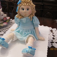 Doll Cake Chocolate cake and RKT