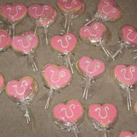 Valentines Cookies #2 here they are being wrapped!!